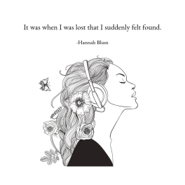 It was when I was lost that I suddenly felt found.-2