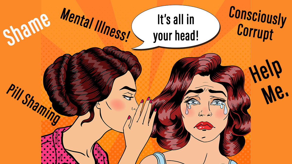 The Wellness Movement's Shaming of People With Mental Illness and How We Come Together